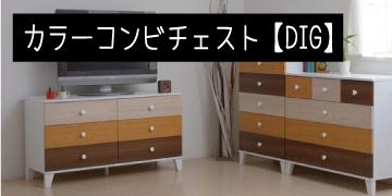 カラーコンビネーションチェスト【DIG】