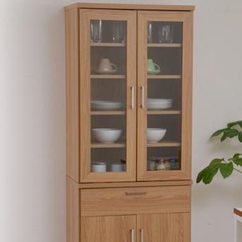 北欧キッチンシリーズ Keittio 60幅 食器棚 FAP-0020-NABK