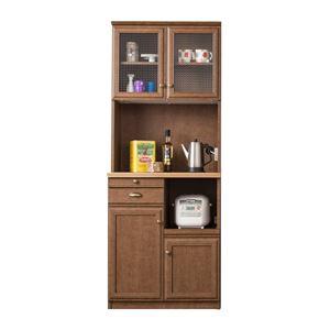 食器棚 70cm ユーアイ NEO CRICHICO(クリチコ)ブラウン K-700HOP BR