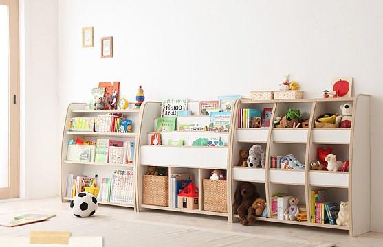 絵本棚・絵本ラック・おもちゃ箱