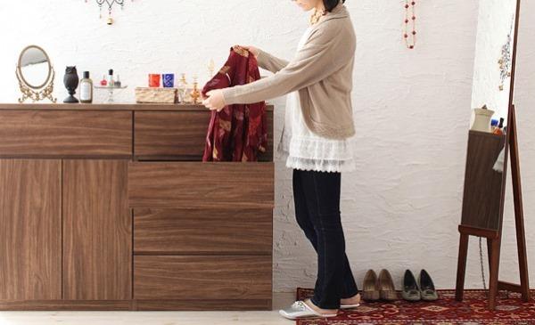 女性の一人暮らし収納例
