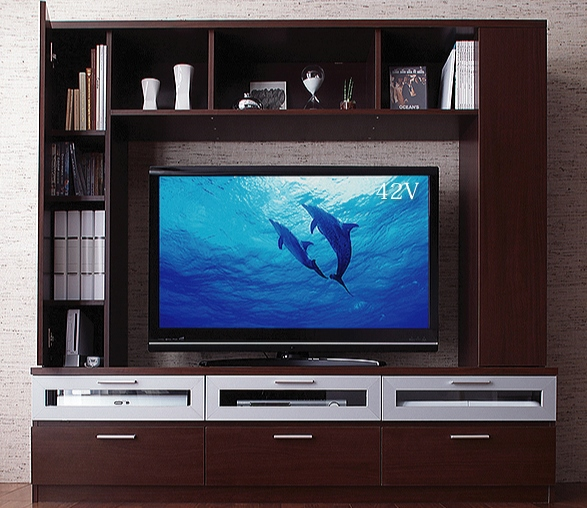 ハイタイプテレビボード【miraggio】ミラジオ